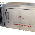 PVK-UK-24NE (24 KVA) generator voor montage aan een voertuig inclusief radiator