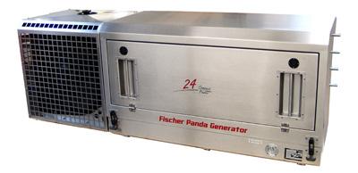 PVK-UK-24NE (24 KVA) voor montage aan een voertuig inclusief radiator