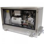 PVMV-N-18NE (18 kVA) Generator in RVS geluidskast