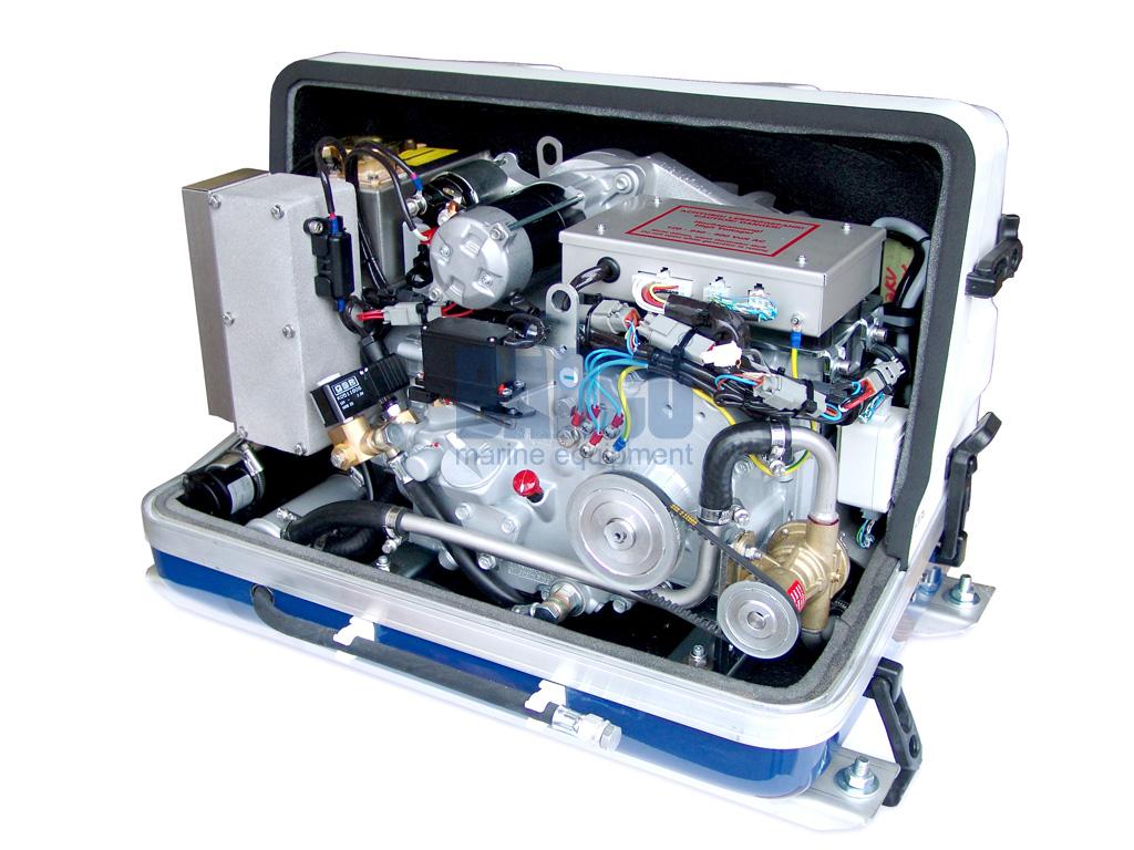 Barco Fischer Panda 5000i Inverter generator voor jacht of voertuig